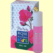 Colónia con Aplicador Roll-On Infantil - 10 ml - Rose of Bulgaria