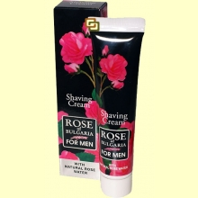 Crema de Afeitar Caballero - 50 ml - Rose of Bulgaria