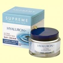 Crema de Día Ultra Hidratante Ácido Hialuronico - 50 ml - Supreme