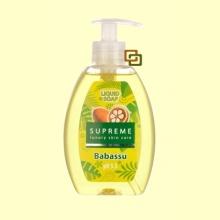 Jabón Liquido Con Aceite de Babassú - 300 ml - Supreme