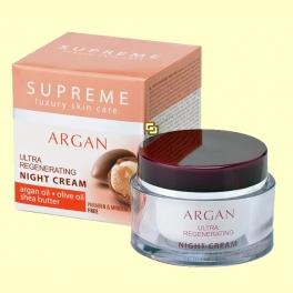 Crema de Noche Ultra Regenerante Aceite de Argán - 50 ml - Supreme