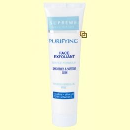Crema Exfoliante Facial Con Q10 y Creatina - 100 ml - Supreme
