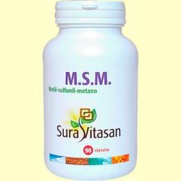 MSM 850 mg - 90 cápsulas - Sura Vitasan