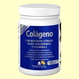 Colágeno con Magnesio Citrato, Ácido Hialurónico y Vitamina C - 327 gramos - Natysal