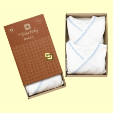 Bodis Kimono Algodon Orgánico Nones - Pack 2 unidades - The Dida Baby *