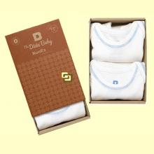 Pack Body Algodón Orgánico Oneise - 2 unidades - The Dida Baby *
