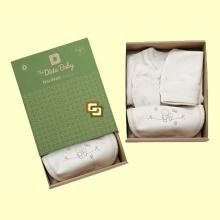 Conjunto para Recién Nacido Algodón Orgánico - 4 Piezas - The Dida Baby