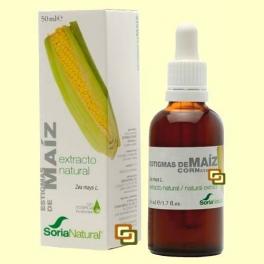 Estigmas de Maíz - Extracto de Glicerina Vegetal - 50 ml - Soria Natural