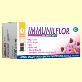 Immuniflor viales - Sistema inmunitario - Laboratorios ESI - 12 mini viales