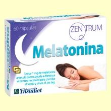Zentrum Melatonina - 60 cápsulas - Ynsadiet