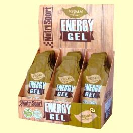 Vegan Energy Gel - Aporte Energético - 18 sobres - NutriSport