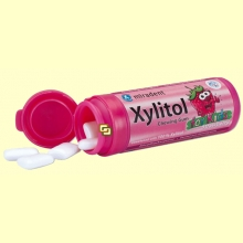 Chicles Xylitol AntiCaries para Niños Sabor Fresa - 30 unidades - Miradent