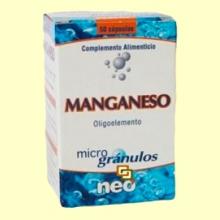 Manganeso Microgránulos - 50 cápsulas - Neo