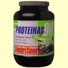Proteínas 90 - Nutrisport - Nutrición deportiva - 1500 g