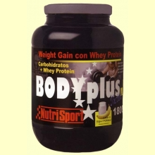 Body Plus - Nutrisport - Yogurt-Platano - 1800 g