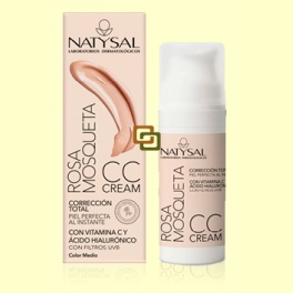 Rosa Mosqueta CC Cream - Color medio - 50 ml - Natysal