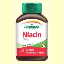 Niacina + Inositol 150 mg - 60 comprimidos - Jamieson