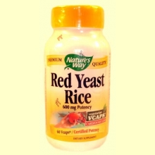Red Yeast Rice - Nature's way - 60 caps