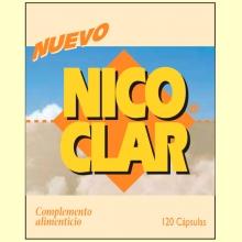 Nico-Clar - Dejar de fumar - 120 cápsulas - Dieticlar