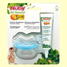 Gel de Dentición y Mordedor Bebé - 15 ml - Nuby