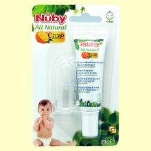 Pasta de Dientes para Bebés + Masajeador - 20 gramos - Nuby