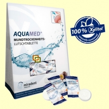 Aquamed - Sequedad bucal - 26 pastillas - Miradent