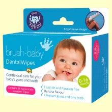 Toallitas Xylitol Infantil - 28 toallitas - Brush-baby