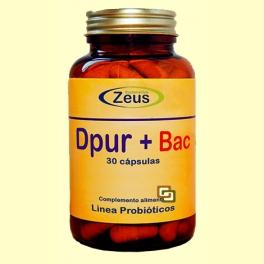 Dpur + Bac - Sistemas Depurativos - 30 cápsulas - Zeus