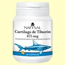 Cartílago de Tiburón 675 mg - 60 cápsulas - Natysal