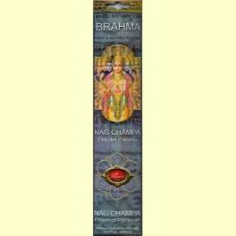 Incienso Brahma Nag Champa - Flaires - 16 barras