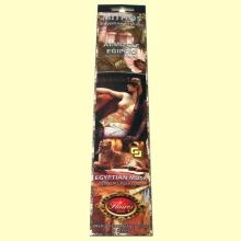 Incienso Mithos Almizcle Egipto - 16 barras - Flaires