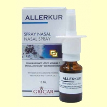 Allerkur Spray Nasal - 15 ml - Gricar