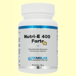 Nutri-E 400™ Forte - Vitamina E - 60 perlas - Laboratorios Douglas