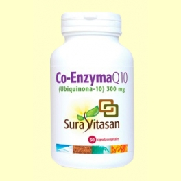 Co-Enzyma Q10 300 mg - 30 cápsulas - Sura Vitasan *