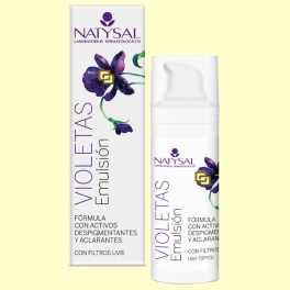 Crema de Violetas - Emulsión - Natysal - 30 ml