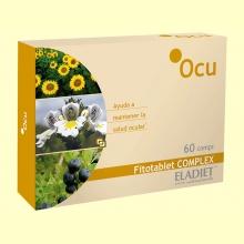 Ocu Fitotablet Complex - Salud Ocular - 60 comprimidos - Eladiet