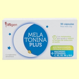 Melatonina Plus - 30 cápsulas - Ifigen