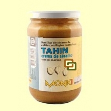 Tahin Monki Bio con Sal Marina - 650 gramos - Biospirit *