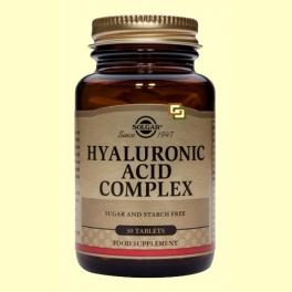 Ácido Hialurónico Complex 120 mg - 30 comprimidos - Solgar
