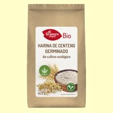 Harina de Centeno Germinado Bio - 400 gramos - El Granero