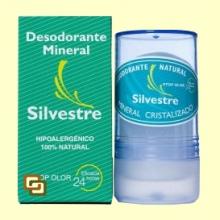 Desodorante Mineral Natural Incoloro - 100 gramos - Silvestre