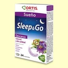 Sleep&Go - Sueño - 24 comprimidos - Laboratorios Ortis