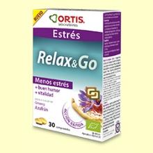 Relax&Go - Estrés - 30 comprimidos - Laboratorios Ortis