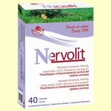 Nervolit - Sistema Nervioso - 40 cápsulas - Bioserum