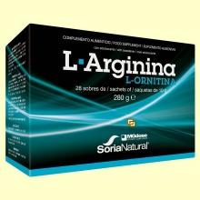 L-Arginina L-Ornitina - 28 sobres - MGdose