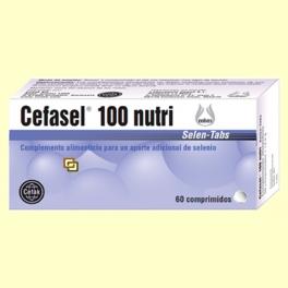 Cefasel 100 Nutri - 60 comprimidos - Laboratorio Cobas