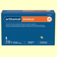 Orthomol Immun - Viales - 7 raciones - Laboratorio Cobas
