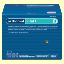 Orthomol Vital F - Granulado - 15 raciones - Laboratorio Cobas