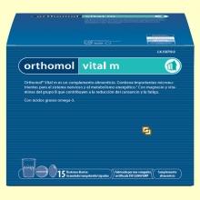 Orthomol Vital M - Granulado - 15 raciones - Laboratorio Cobas