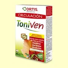 Toniven - Circulación - 30 comprimidos - Ortis